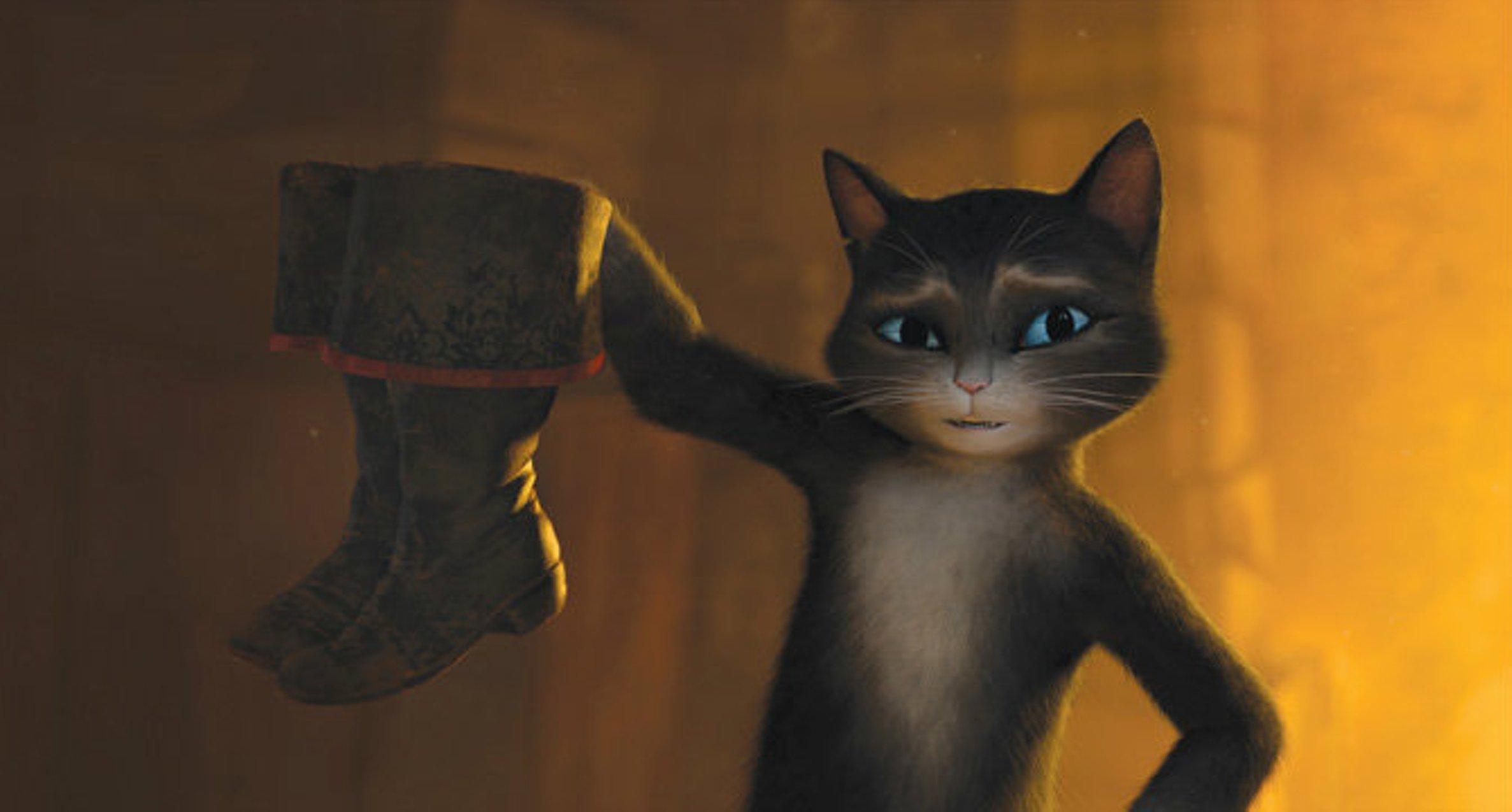 сапоги для кота в сапогах в картинках
