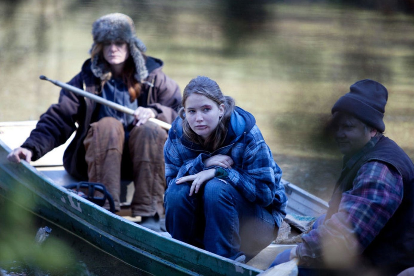 winters bone Parents need to know that winter's bone -- a grim drama about a brave, resourceful 17-year-old heroine -- is not overly violent, but has a constant, simmering promise of violence.