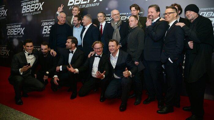 В Москве прошла звёздная премьера экшен-драмы «Движение вверх»