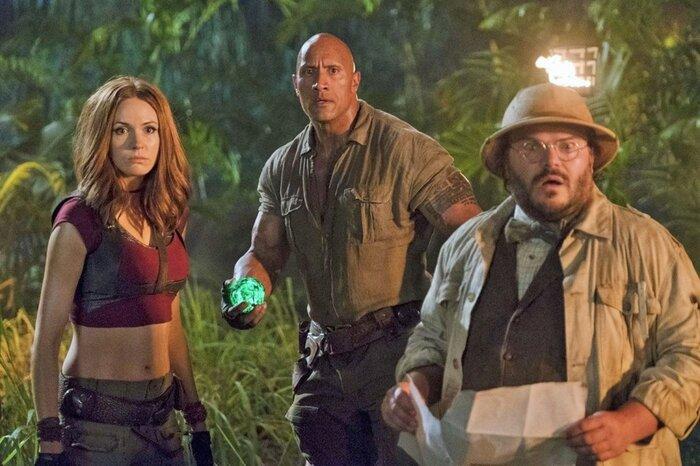 Касса четверга: «Джуманджи: Зов джунглей» обещает стать главным голливудским блокбастером новогодних каникул (21.12.2017)