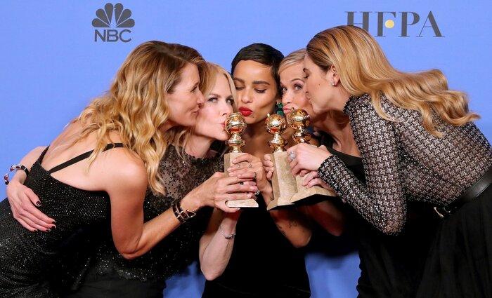 Церемония «Золотой глобус»-2018: самые яркие платья