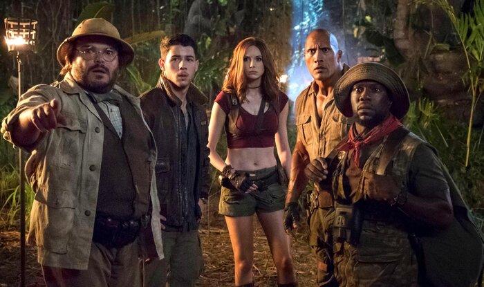 Касса США: «Джуманджи: Зов джунглей» лидирует на четвёртой неделе проката (12-14.01.18)