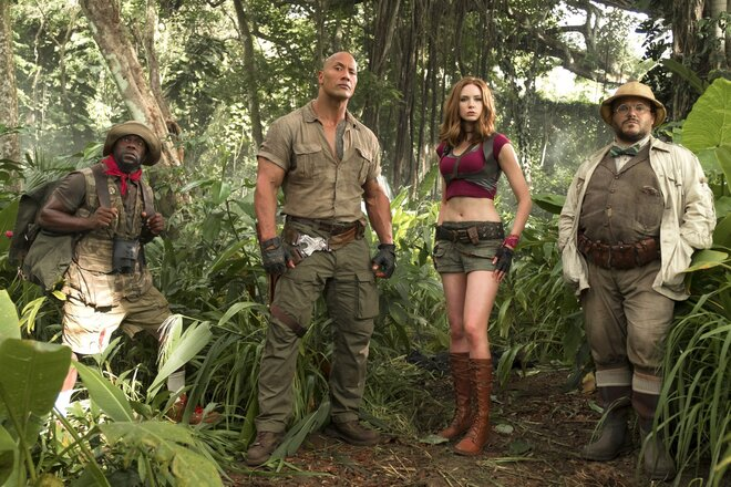Касса США: «Джуманджи: Зов джунглей» сохраняет лидерство, но конкуренты не отстают (19-21.01.2018)