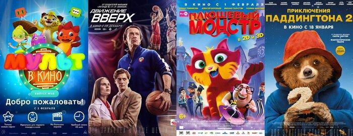 Что смотреть в кино с детьми на выходных со 2 по 4 февраля