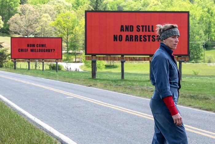 «Три билборда на границе Эббинга, Миссури»: «Индустрия кино» про фаворита «Оскара»