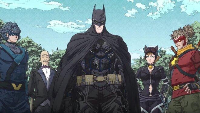 «Бэтмен-ниндзя»: Тёмный рыцарь стал героем аниме