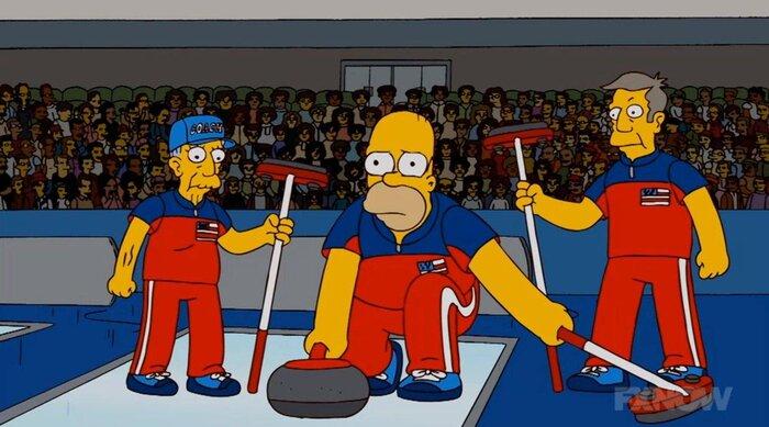 «Симпсоны» предсказали события Олимпиады-2018 восемь лет назад