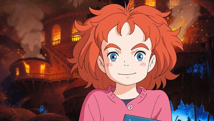 Фильм «Мэри и ведьмин цветок» стал самым кассовым аниме в истории российского проката