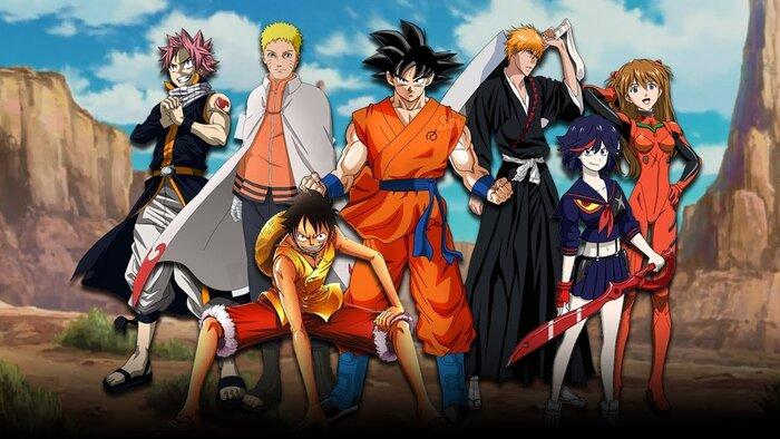 Как бы «Мстители» выглядели в мире аниме. Видео