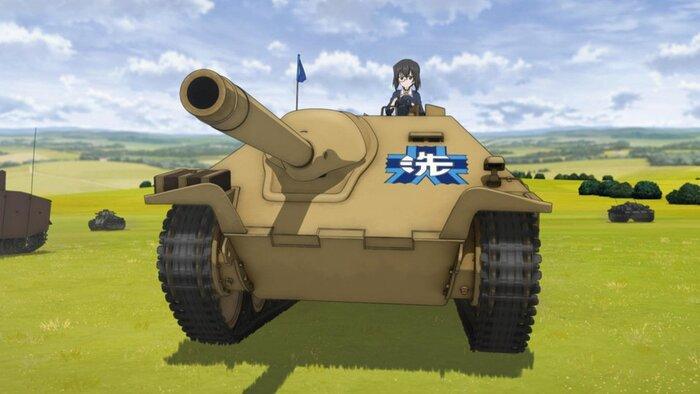 Аниме «Девушки и танки» выходит в прокат