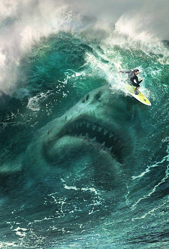 Герой Стэйтема против древней акулы: трейлер фильма «Мег: Монстрглубины»