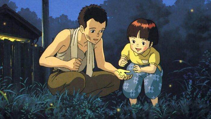«Могила светлячков» назван лучшим мультфильмом всех времён