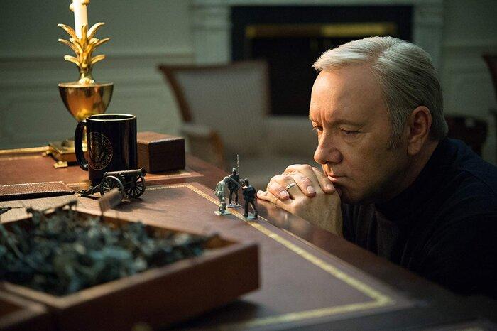 В «Карточном домике» – новый президент. Видео