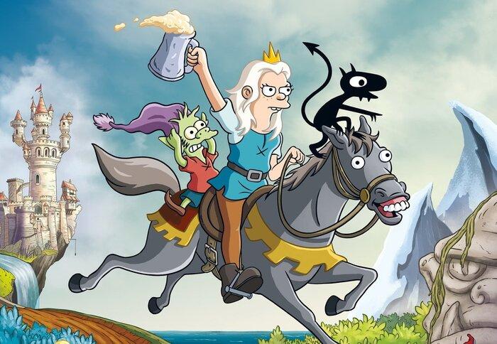 Создатель «Симпсонов» пародирует «Игру престолов». Трейлер сериала «Разочарование»