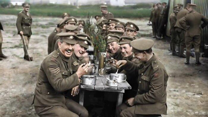 Питер Джексон оживил архивные съёмки Первой мировой войны. Видео
