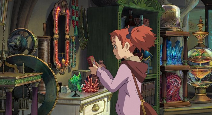 Создатели аниме «Мэри и ведьмин цветок» анонсировали новый мультфильм