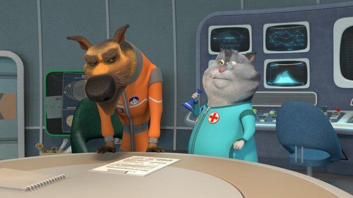 Новый мультсериал «Белка и Стрелка. Тайны космоса» выходит на большие экраны