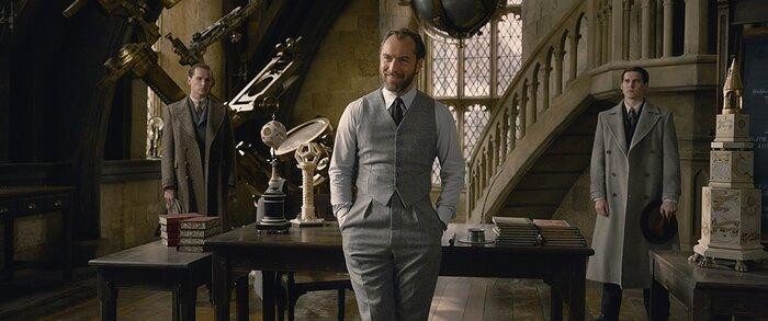 Джуд Лоу рассказал «Индустрии кино», чему стоит поучиться у Дамблдора