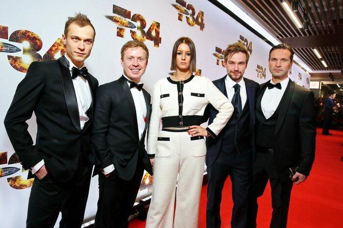 Актёры «Т-34» обсудили фильмс«Индустрией кино»