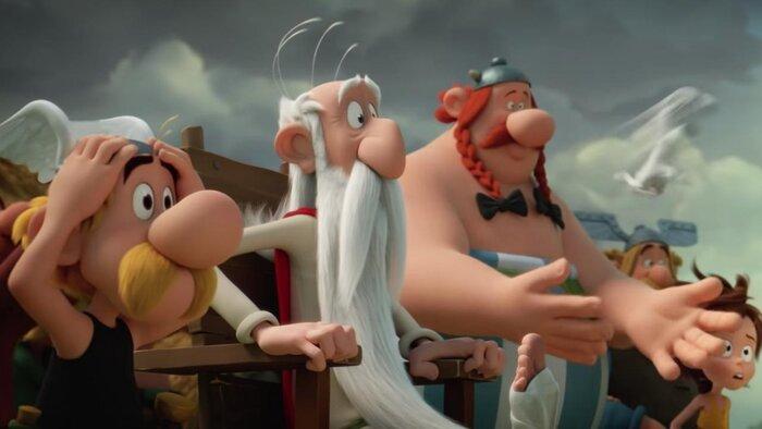 «Астерикс и тайное зелье»: смотрите фрагмент анимационного блокбастера