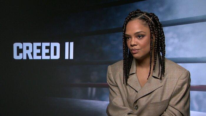Тесса Томпсон про «Крид 2»: «На съёмках я хорошо повеселилась»
