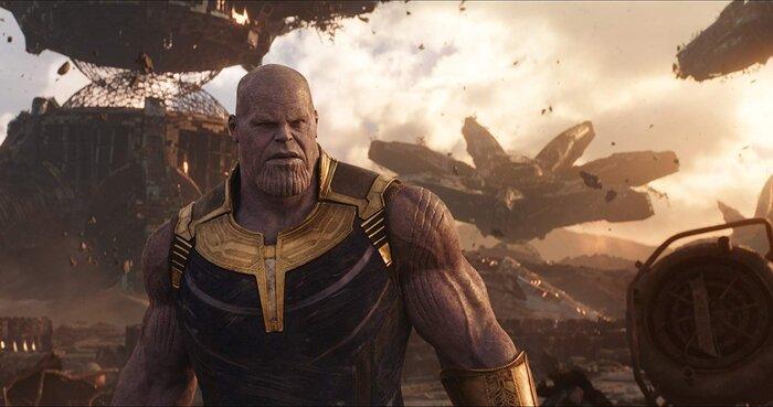 Как Танос выглядел в молодости: что вырезали из «Войны Бесконечности»