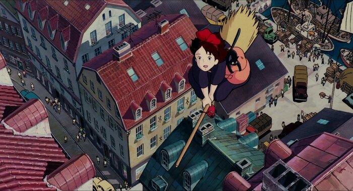 Города из аниме, в которых хочется жить