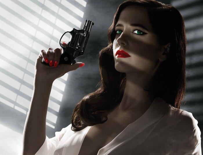 Кино в гифках. Самые сексуальные образы Евы Грин (18+)