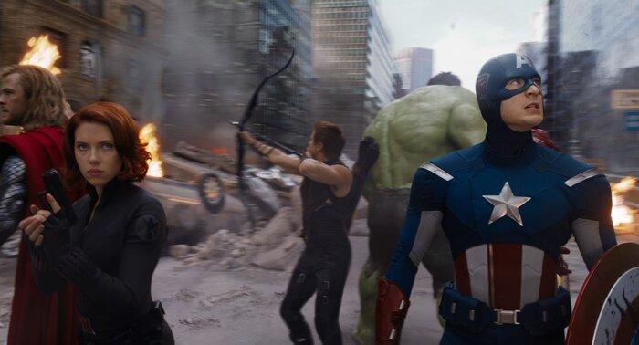 Самые крутые гифки из фильмов Marvel