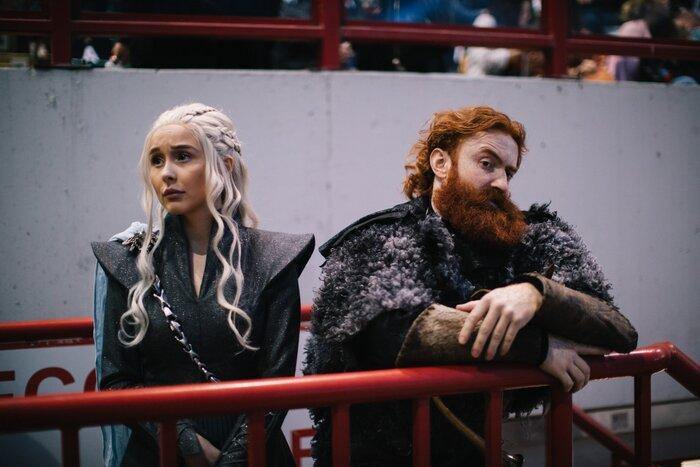 Финал «Игры престолов» показали на московском стадионе