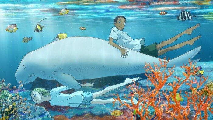 Аниме «Дети моря» украсит осенний прокат