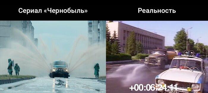 Чернобыль: сравнение сериала HBO и реальных съёмок 1986 года. Видео!
