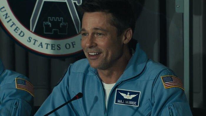 «К звёздам»: смотрите новый трейлер космического триллера с Брэдом Питтом