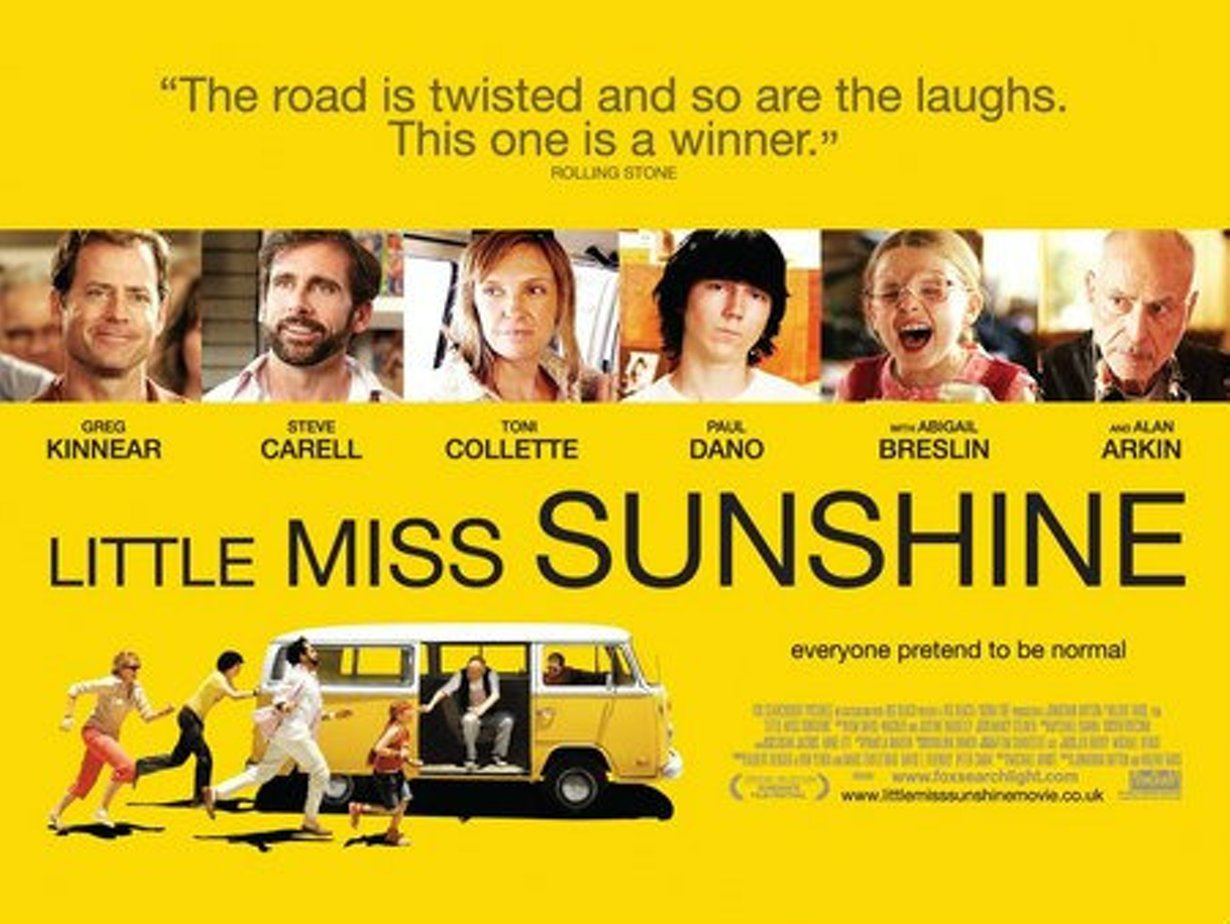 little miss sunshine film essay Stories should be about something as a reminder, here is screenwriter michale arndt talking about the central theme in his film little miss sunshine: and so armed.
