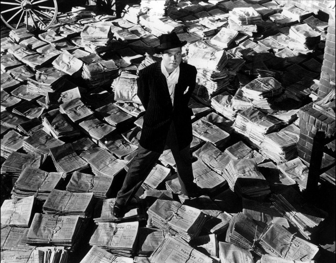 an analysis of charles foster kane a character in citizen kane by orson wells Orson welles in citizen kane photograph: imagenet/bfi  the story of charles foster kane is a troubled one: the headstrong newspaper proprietor who makes a brilliant marriage to the niece of.