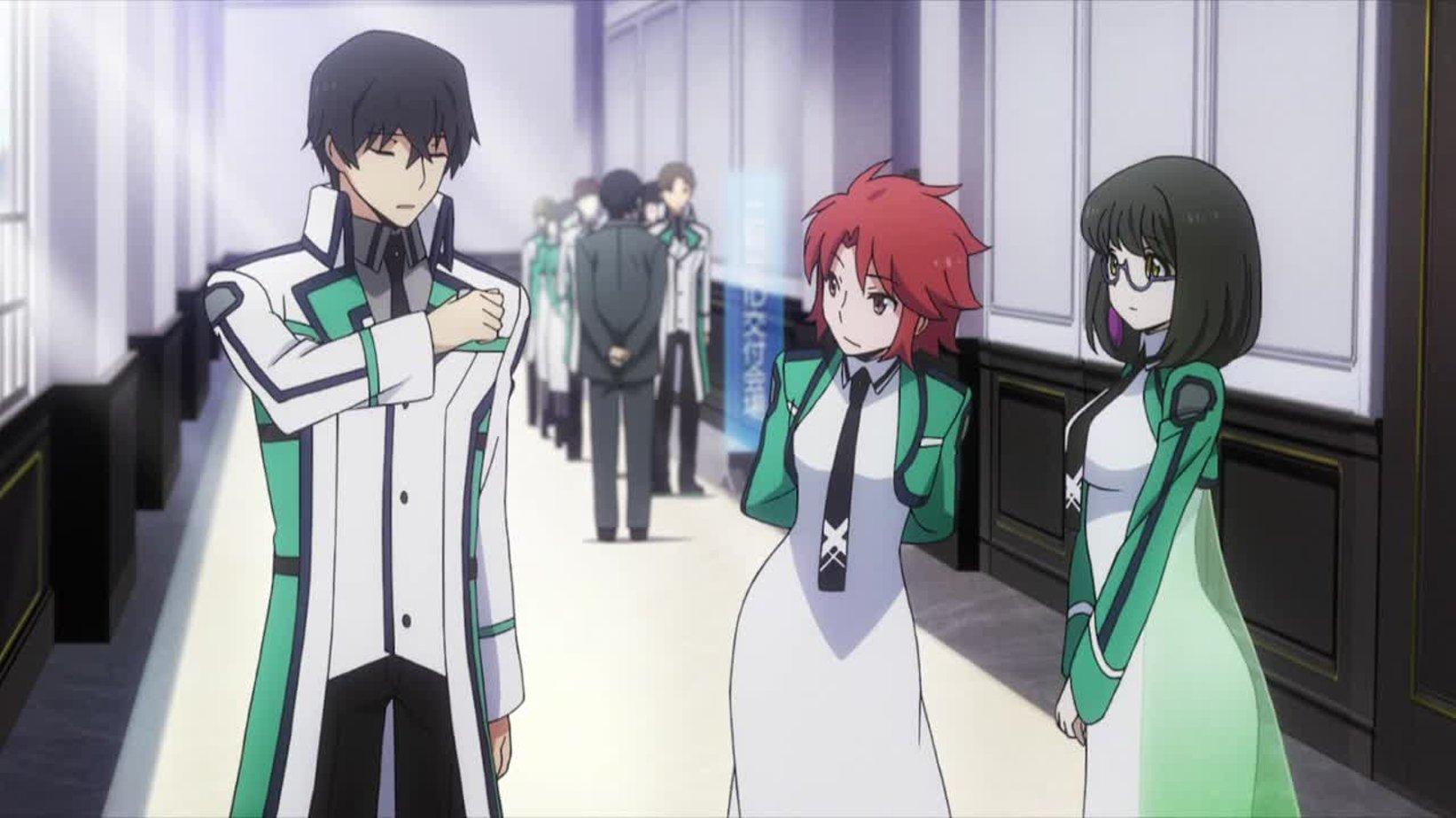 Аниме непутевый ученик в школе магии 1 сезон 2 серия гадание на картах дома самому себе