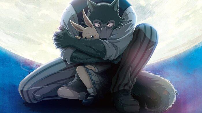 Волк спасает зайку в новом тизере аниме «Выдающиеся звери»