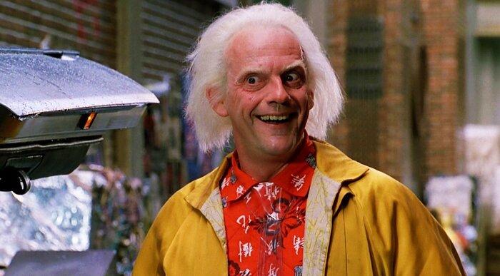 Док Браун из «Назад в будущее» снимется у Ильи Найшуллера