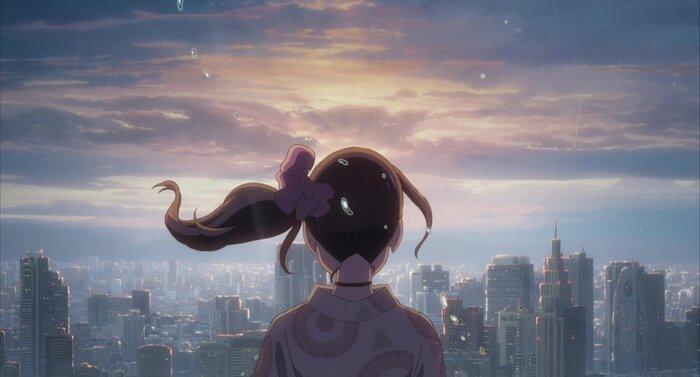 Самые красивые кадры из главных аниме Макото Синкая