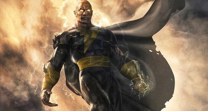 Кинокомикс «Чёрный Адам» с Дуэйном Джонсоном: новые подробности