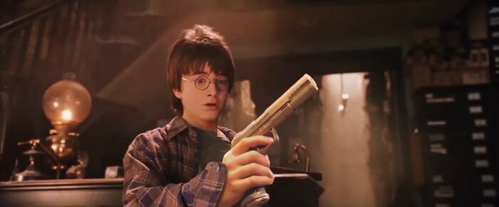 «Гарри Поттер и Смертельное оружие»: фанаты заменили волшебные палочки пистолетами