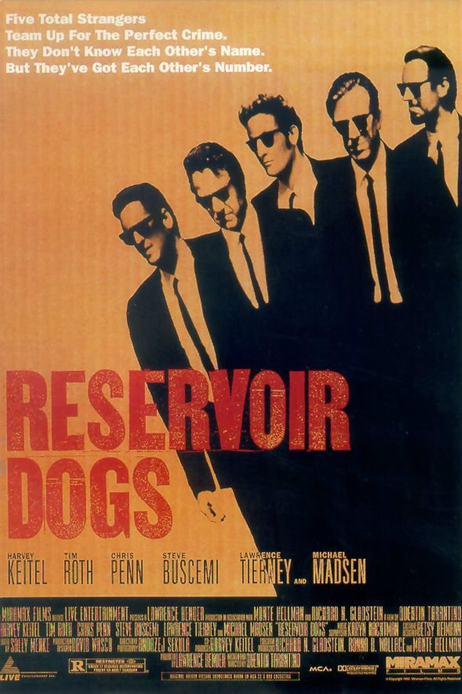a report on reservoir dogs a film by quentin tarantino The cast of reservoir dogs reunited for a retrospective screening at the tribeca film festival.